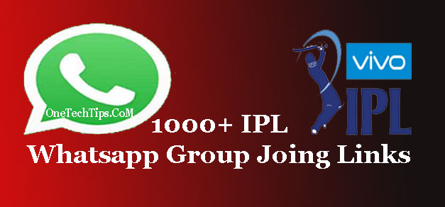 1000+ IPL Whatsapp group joing links