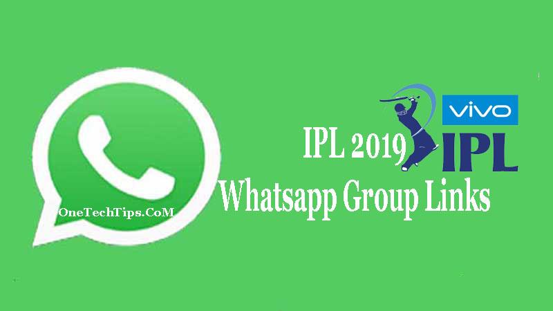 IPL Whatsapp Group Link 2019