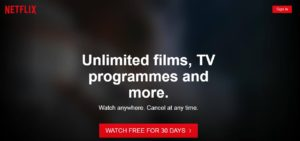 Netflix account Free 1 Month Trial 1