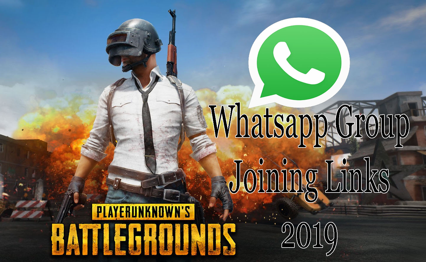 PUBG Whatsapp Group Links 2019