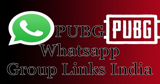 PUBG Whatsapp Group Links India