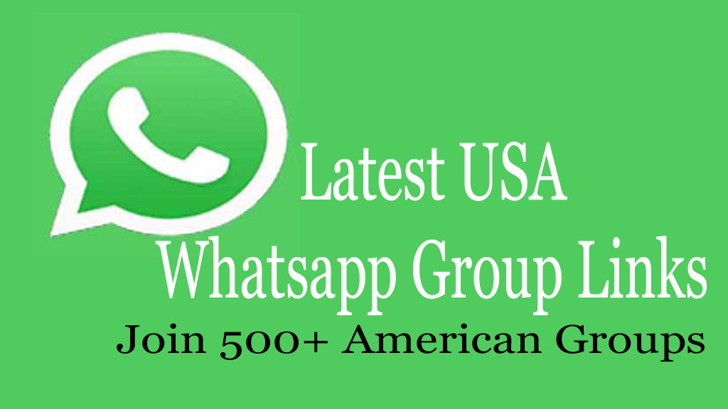 USA Whatsapp Group Links