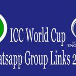 ICC World Cup Whatsapp Group Links 2019