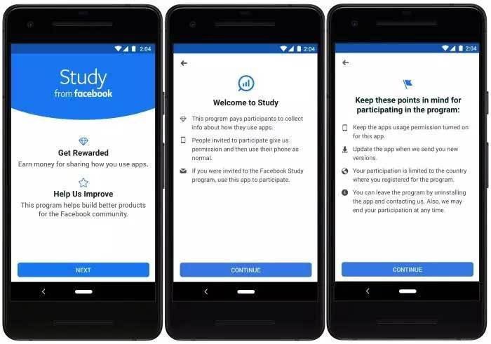 Earn-Money-Study from Facebook App
