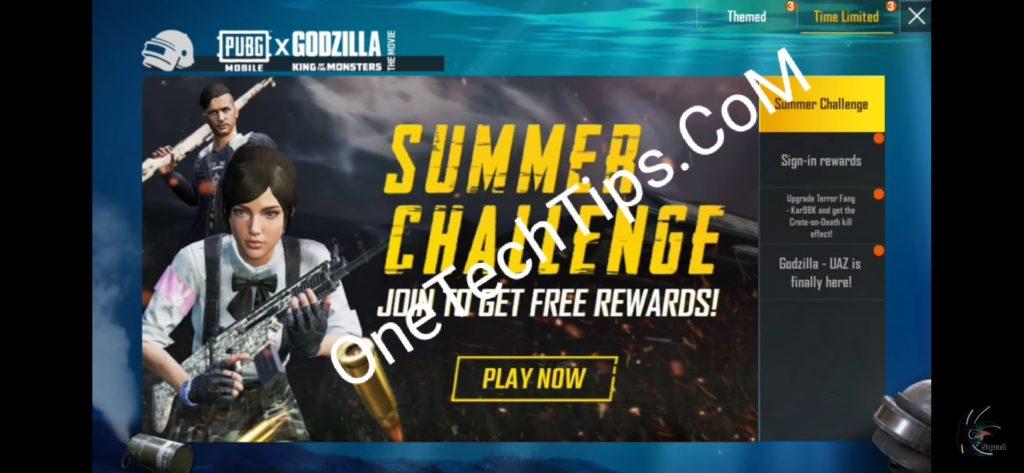 pubg summer challenge