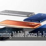 Upcoming Mobile phones in June 2019 in India