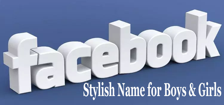 FB Stylish Name for Boys & Girls