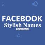 Facebook Stylish Name