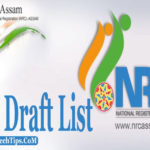 NRC Assam Draft List