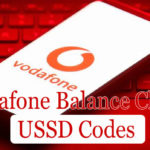 Vodafone Balance Check USSD Codes