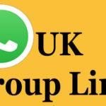 UK Whatsapp Group Links